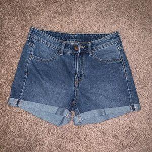 H&M Regular Waist Denim Shorts